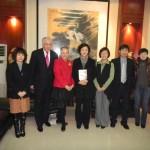 """Зустріч з викладачами та керівництвом Сіаньського університету іноземних мов 15 грудня 2011 р."""""""