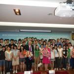 Зі студентами Пекінського університету нафти