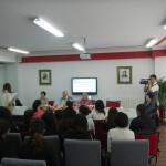 Зустріч студентів з відомою українською поетесою Людмилою Скирдою