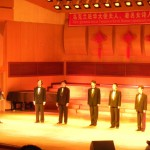 Студентський сікстет виконує українські пісні