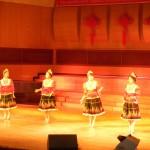 Жіночий квартет виконує українські народні пісні