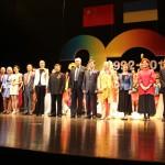 Фінал концерту в Академії театрального мистецтва м. Шанхай
