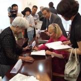 Презентація книги Л.М. Скирди «Подих Китаю» в Посольстві України в КНР, 25 серпня 2010